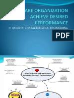 To Make Organization Achieve Desired Performance