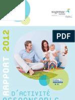 SOGEMAC Habitat Rapport d'Activité Responsable 2012