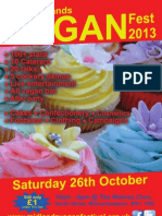 West Midlands Vegan Fest 2013