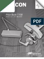 Falcon Price Book Revised 8/13
