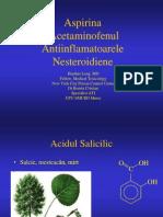 Aspirina Acetaminofenul AntiinflamatoareleNesteroidiene