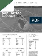 PRB_Population Mondiale 2006