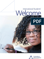 international students welcome event guide - september 2013