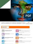 Latin American and Brazil Media Market for 2013