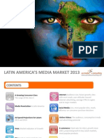 Latin American and Brazil Media Market for 2013