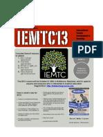 IEMTC13 Flyer 2 Word