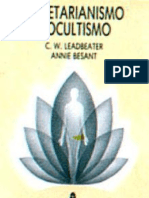 c. w. Leadbeater e Annie Besant - Vegetarianismo e Ocultismo