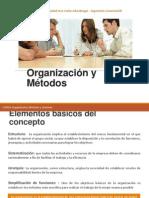 Organización y Métodos - DIAPOSITIVA