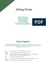 Writing Primer