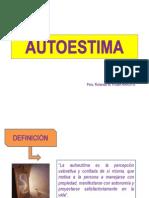 AUTOESTIMA, SESION 1