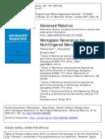 Workspace Generation for Multifingered Manipulation