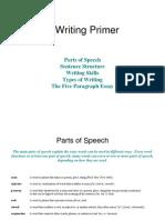 Beginning Writing Primer