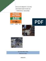 Plan de Simulacro Emergencias Desastres