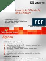Lanzamiento GTM BI