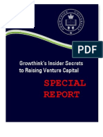 Growthink, Insider Secrets to Raising Venture Capital