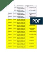 Fixtures 2013/2014