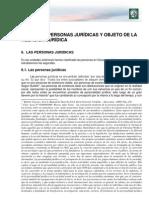 Lectura 2. Personas Juridicas y Objeto de La Relacion Juridica