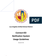 Lausd Notification System Guidelines-06!17!08