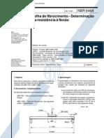 NBR 6468 - Telha de fibrocimento - Resistência a flexão