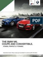 M6 Coupe Convertible Catalogue
