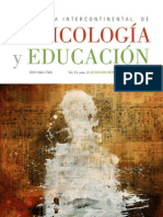 Revista Intercontinental de Psicología y Educación Vol. 15, 2