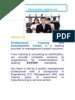 HR Training Brochure
