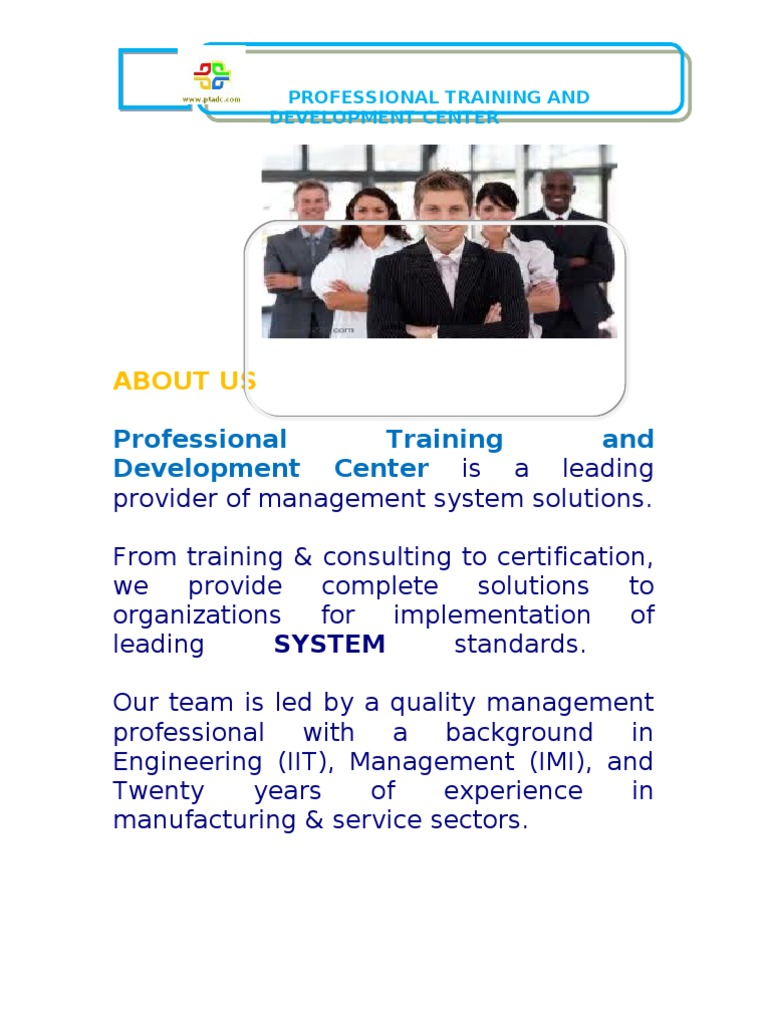 Hr training brochure audit iso 9000 xflitez Image collections