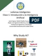 SistemasInteligentes Clase1 Intro Ala AI