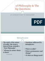 Schools of Philosophy & the Big Questions