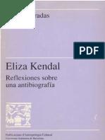 Eliza Kendall. Reflexiones sobre una antibiografía
