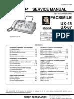 FAX UX-45-ux67-manual_de_serviço