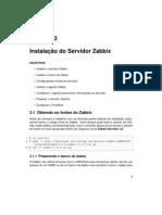 Apostila Instalação do Servidor Zabbix