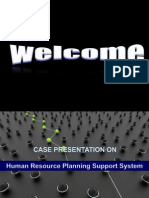 Human Resource Planning Support System