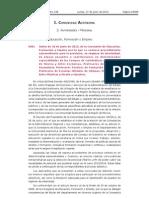 Murcia Convocatoria Profesores Fp