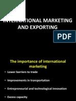 export marketing 1
