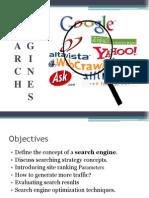 Search Engines Presentation