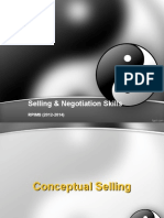 SN Conceptual & Strategic Selling