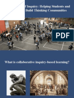 What is Collaborative Inquiry Based Learning