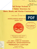 Simplified Design Methods of Treated Timber Structures for Shore, Beach, And Marina Construction