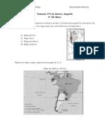 Evaluación N4 Historia y Geografía para 4 Año Básico (f2)