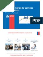 Capacitacion Programa Caminos 2011-2