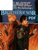 Magic the Gathering - Artifact Cycle 1 - The Brothers' War - {Grubb, Jeff}