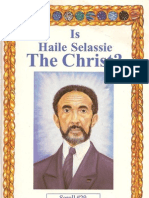 dr malachi  z york - Is Haile Selassie the Christ