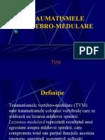TRAUMATISMELE VERTEBRO-MEDULARE