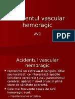 Accidentul Vascular Hemoragic