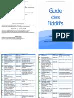 Guide Additif Tous Les Noms, Famille, Dangers