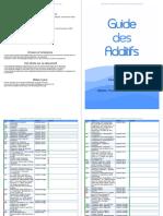 Guide Additif Tous Les Noms, Famille, Casher