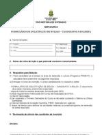 formulario de inscriçao Programa o Prazer da Arte_