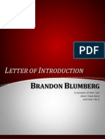 letter of introduction - color