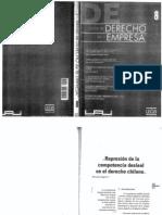 Mauricio Tapia - Competencia Desleal